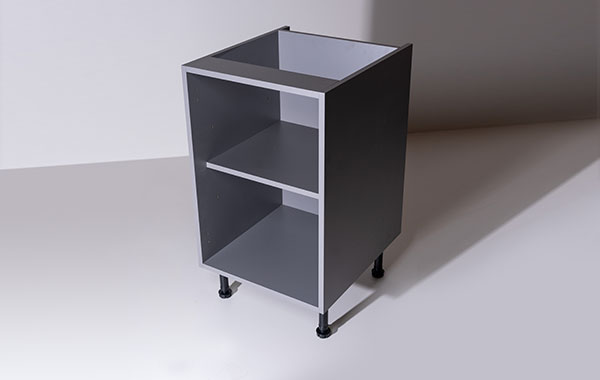£Y Cubed cabinet seen from top right corner